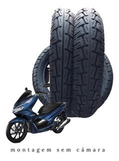 Par Pneu 90.90-14 E 100.90-14 Honda Pcx 150 Cc