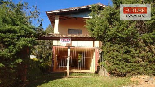 Imagem 1 de 12 de Chácara Com 3 Dormitórios À Venda, 1000 M² Por R$ 450.000,00 - Chacara Val Paraiso - Atibaia/sp - Ch0015