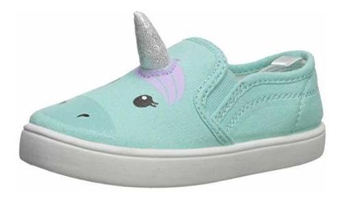 Zapatillas De Skate Sin Cordones Casual Para Niñas Tween De