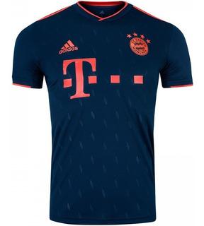 Camisa Do Bayern Munique Uni.3-original 19/20- Frete Grátis - Envio Imediato.