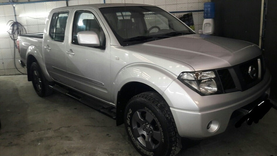 Nissaan Frontier Se 2.5 4x2 Cd Turbo Manual Prata Ano 2011