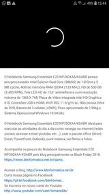 Notbook Da Samsung Essentials