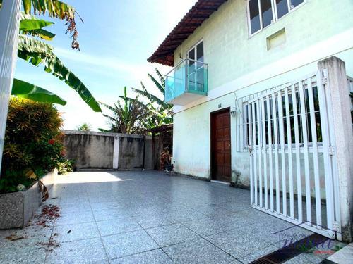 Casa Com 2 Dormitórios À Venda, 65 M² Por R$ 180.000,00 - Vila Santa Cruz - Duque De Caxias/rj - Ca0250