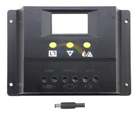 Controlador De Carga Digital 80a Para Painel Solar