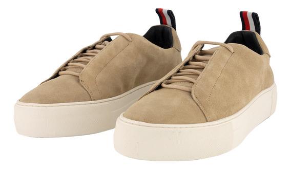 Sneakers - Tommy Hilfiger - Fm0fm01537-102 - Beige Hombre