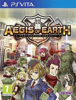 Aegis Of Earth: Protonovus Assault Ps Vita ¡nuevo Sellado!