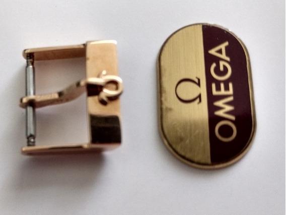 Fivela Relógio Omega Ouro Sólido Vintage 16mm Valorize