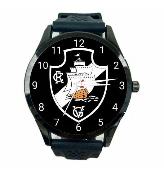 Relógio Vasco Da Gama Unissex Promoção Oferta Time Novo T701