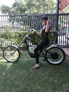 Bicicleta Electrica Chopper Marca Rolled Erikson