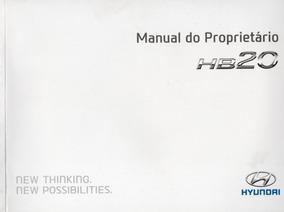 Pmanual Proprietário Hyundai Hb20 Hb 20 2012 2013 Completo