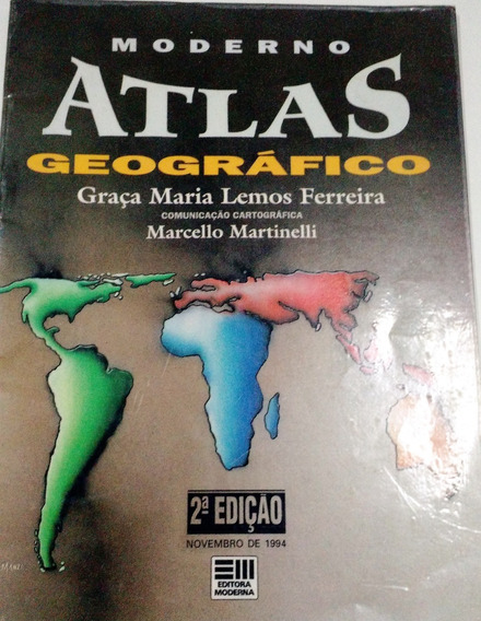 Moderno Atlas Escolar Geográfico