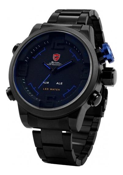 Relógio Shark Masculino Militar Sh105 Sh106