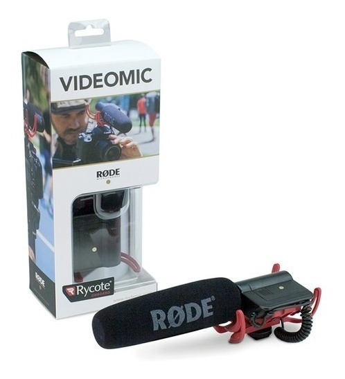 Microfone Direcional Videomic Rycote - Original Rode