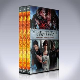 Resident Evil Colección Peliculas Animadas Pack 3 Dvds