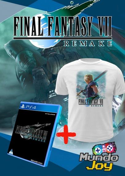 Jogo Final Fantasy 7 - Ps4 Mídia Física + Frete Grátis