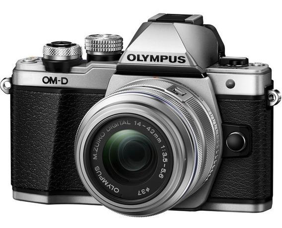 Câmera Olympus E-m10 Mark Ii C/ 14-42mm Garantia Nfe