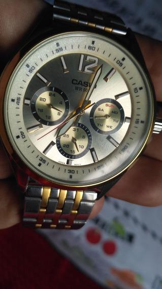 Relógio Masculino Casio Aço Inoxidável