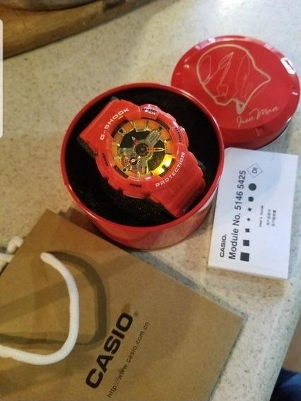 Reloj Casio G-shock Marvel Con Caja E Instructivo Ironman