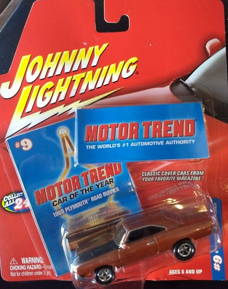 Auto Johnny Lightning 1968 Plymouth Road Runner Trend Rdf1