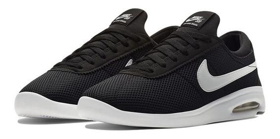 Zapatillas Nike Sb Air Max Bruin Textil Mesh Negras Unisex
