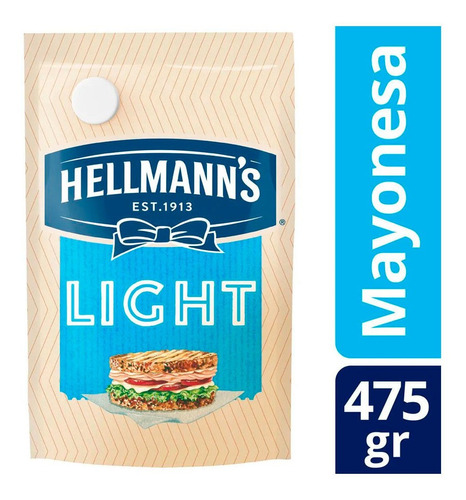 Mayonesa Hellmann's Light X 475 Gr