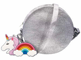 Bolsa Zaxy Fun Bag Grendene Unicórnio Gliter/prata