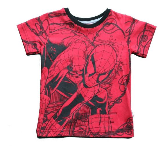 5 Playeras Disney Niño Marvel Star Wars Mayoreo Envio Gratis