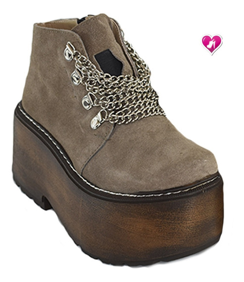 Bota Botineta Temp Invierno 19 Model Palermo De Shoes Bayres