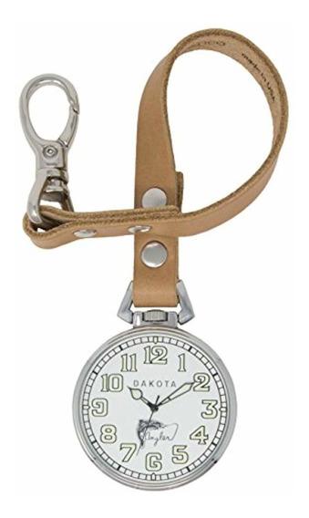 Dakota Reloj De Cuarzo Y Cuero Para Hombre,
