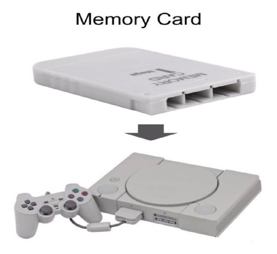 Memória Memory Card Ps1 Psone Psx Playstation Baby Tijolão