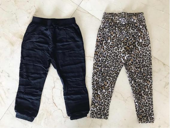 Pantalones Babucha Dkny H&m Talle 4/5 6 Años