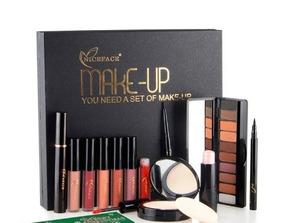 12 Pcs Diário Maquiagem Cosméticos Conjunto Incluindo Gloss