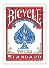 Baralho Bicycle Standard Vermelho - Poker Size