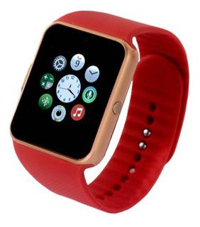 Relogio Celular Smartwatch Gt08 Chip Bluetooth Android Ios