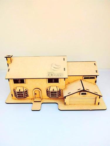 Casa Simpsons Mdf / Fibrofacil
