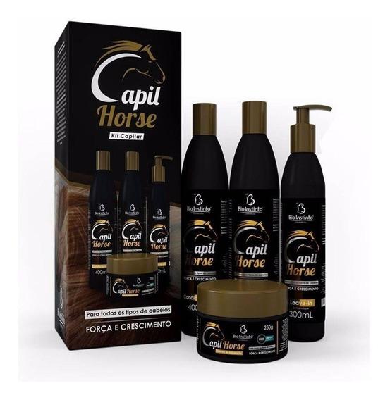 5 Kits Crescimento Capilar Capil Horse 20 Produtos Top!!