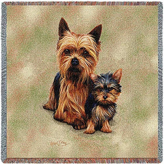 País Puro 1136ls Yorkie Cachorros Manta Para Mascotas Can