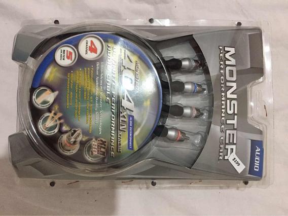 Rca Monster 404xln Extreme 4 Canais(5metros)