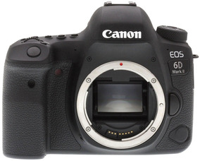 Câmera Canon 6d Mark 2 Loja Platinum 12 X Sj + Nota Fiscal