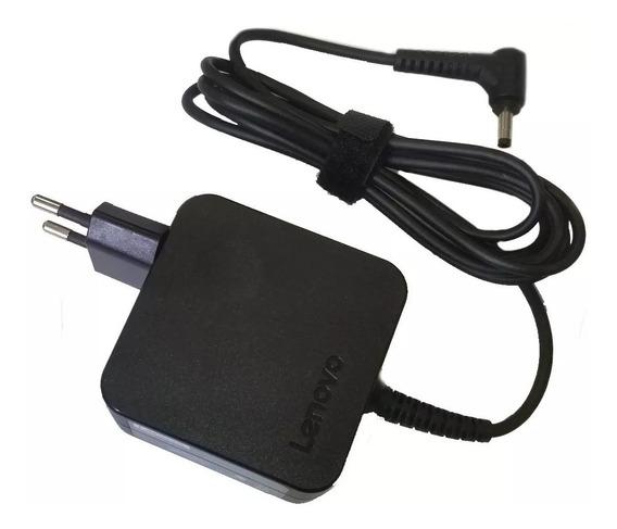 Carregador Para Notebook Lenovo 20v 2.25a 45w Pino Fino