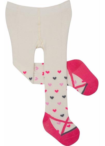 Meia Calça Pimpolho Para Bebê Menina 16 Ao 20