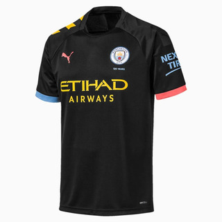 Camisa Manchester City 2 Puma 2019-20 Personalização Grátis!
