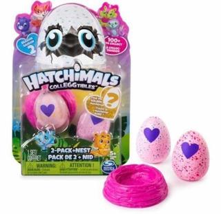 Hatchimals 2 Huevos + Nido Coleccionables 9103 Caffaro