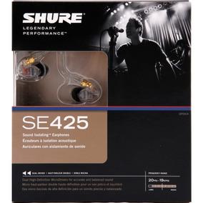 Shure Se425 Fone De Ouvido Monitor Pessoal Original Lacrado