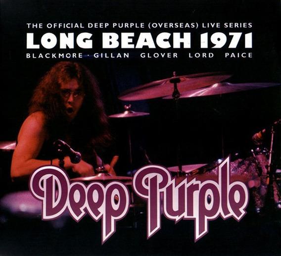 Deep Purple - Live In Long Beach 1971 - Cd Nuevo