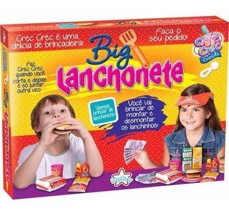 Brinquedo Menina Infantil Criança Brincar Comida Crec Crec