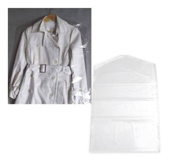 Protetor Plástico P/ Roupa 56x120 C/100 Para Vestidos