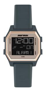 Relógio Digital Mormaii Luau Cinza Mo3124ab/8c