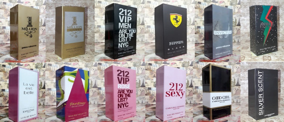 Kit Promoção 10 Perfumes Importados Atacado Revenda Verifique A Disponibilidade No Campo De Perguntas