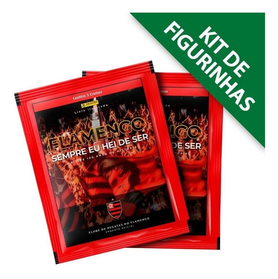 Flamengo Histórico - Kit Com 12 Envelopes - 60 Cromos